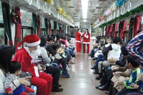 信楽高原鐵道「サンタ列車」