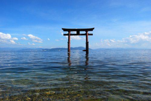 びわ湖「白髭神社」